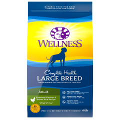 Wellness Complete Health Large Breed Adult 15 lb