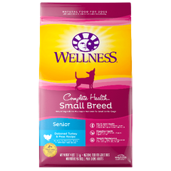 Wellness Complete Health Small Breed Senior 4 lb