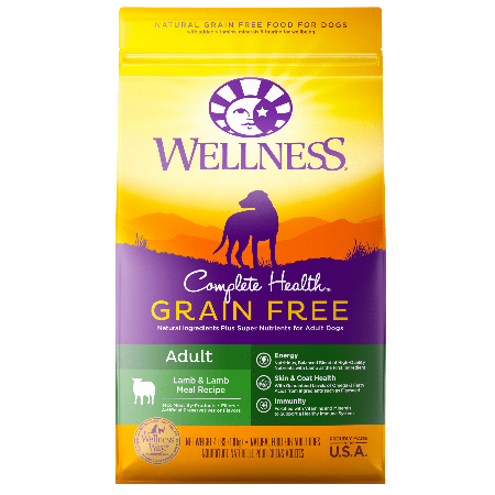 Wellness Complete Health Grain Free Lamb & Lamb Meal Recipe