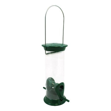 "New Generation 8"" Green Sunflower/Mixed Seed Feeder"