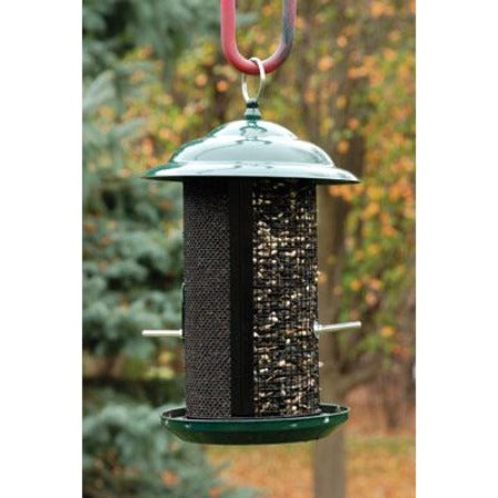 WoodLink Combination Nyjer/Mixed Seed Mesh Feeder - Medium