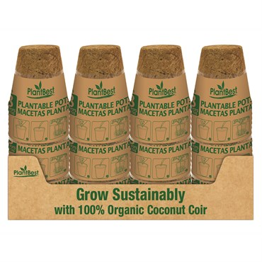 Biodegradable Coconut Coir Pots