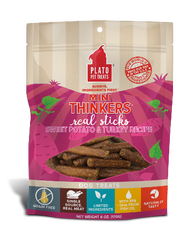 Mini Thinkers Real Sticks Sweet Potato & Turkey Recipe 6 oz