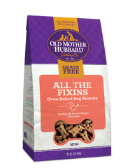 Old Mother Hubbard Grain Free All The Fixins Biscuits Mini 16 oz