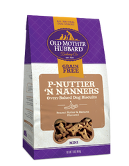 Old Mother Hubbard Grain Free P-Nuttier 'N Nanners Mini 16 oz