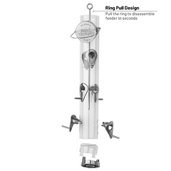 Classic Finch Feeder with Ring Pull Advantage