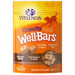 WellBars Crunchy Peanut & Honey 45 oz