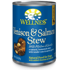 Wellness Homestyle Stew Venison & Salmon Stew with Potatoes & Carrots 12.5 oz