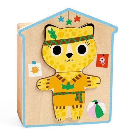 Dress-Up Mix Wooden Puzzle