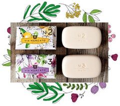 Via Mercato No 2 Soap - Green Tea & White Musk