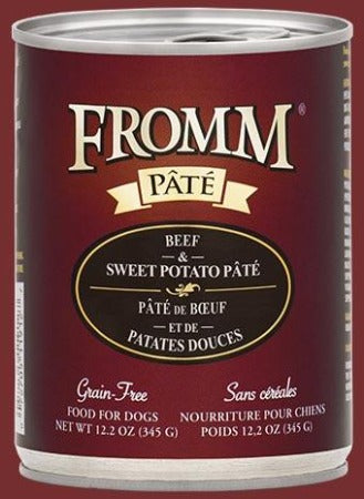 Fromm Grain Free Beef & Sweet Potato Pâté 12.2 oz