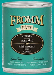 Fromm Grain Free Chicken & Duck Pâté 12.2 oz