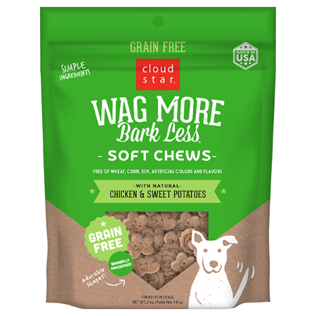 Wag More Soft Chews Chicken & Sweet 5 oz