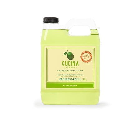 Cucina Lime Zest and Cypress Hand Soap Refill 33.8 fl oz