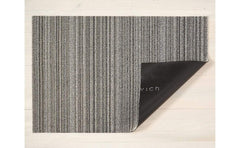 Chilewich Skinny Stripe Shag Mat Birch