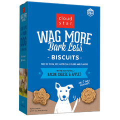 Wag More Biscuits Bacon, Cheese & Apples