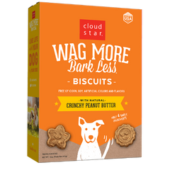 Wag More Biscuits Crunchy Peanut Butter