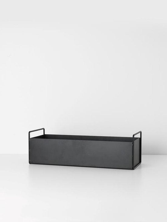 Plant box - small/zwart