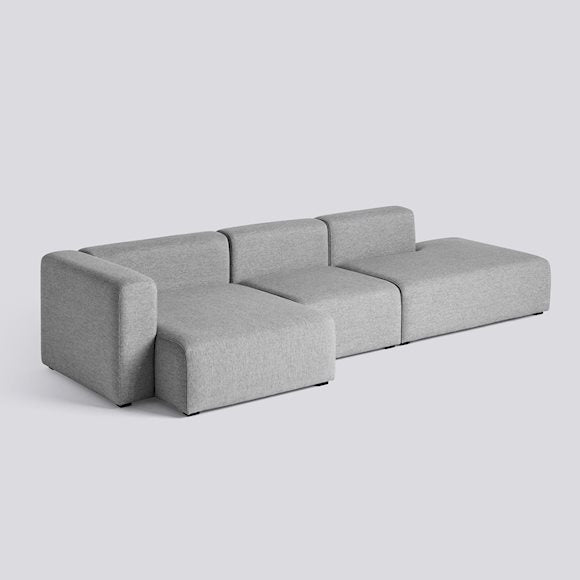 Sofa mags - 3 seater combination 4, stof Hallingdal 130