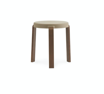 Tap stool walnut/sand