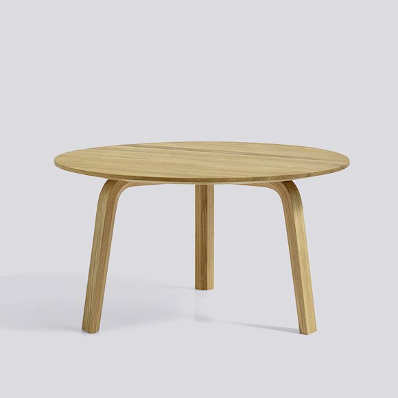 Bella coffee table medium - geoliede eik