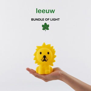 Leeuw mini, bundle of light - oplaadbare lamp