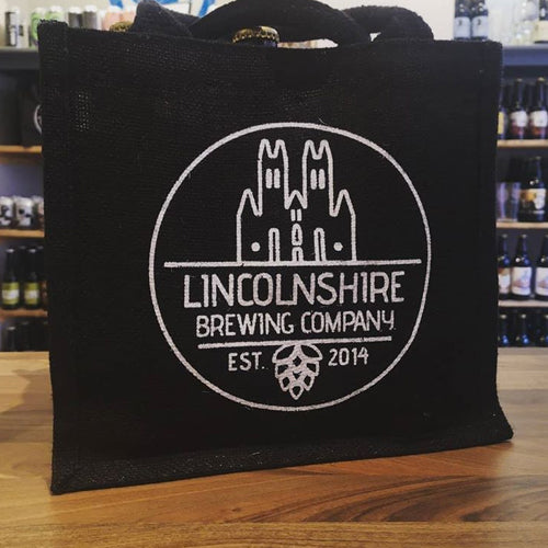 Jute Bag of 6 beers - Lincolnshire Brewing Company