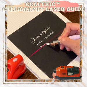 Craftric™️ Calligraphy Laser Guide