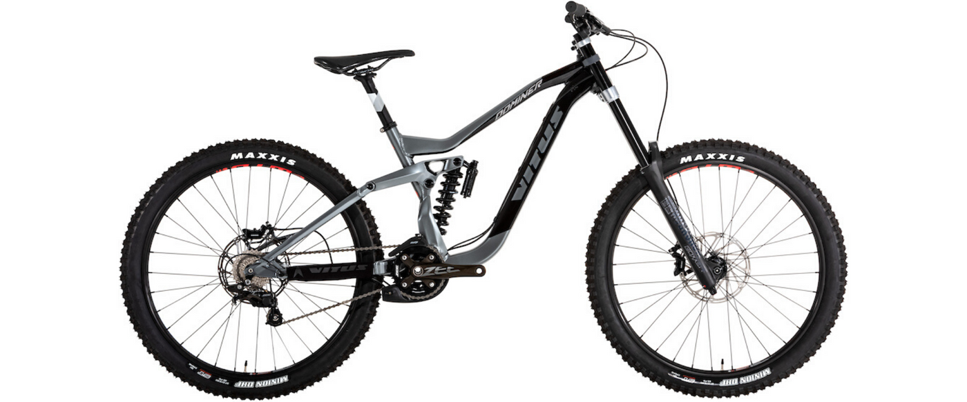 VITUS LAUNCH 2019 DOMINER DH BIKE