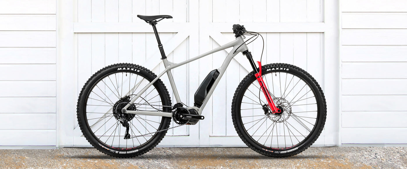 Electric mountain bike, Vitus E-Sentier