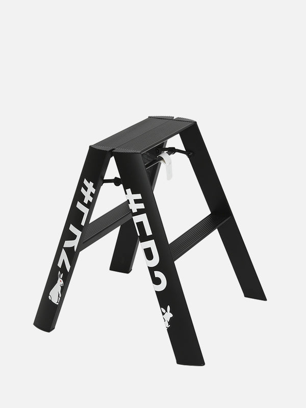 lucano #FR2 collaboration ブラック<br>ルカーノ Step stool / 2-step