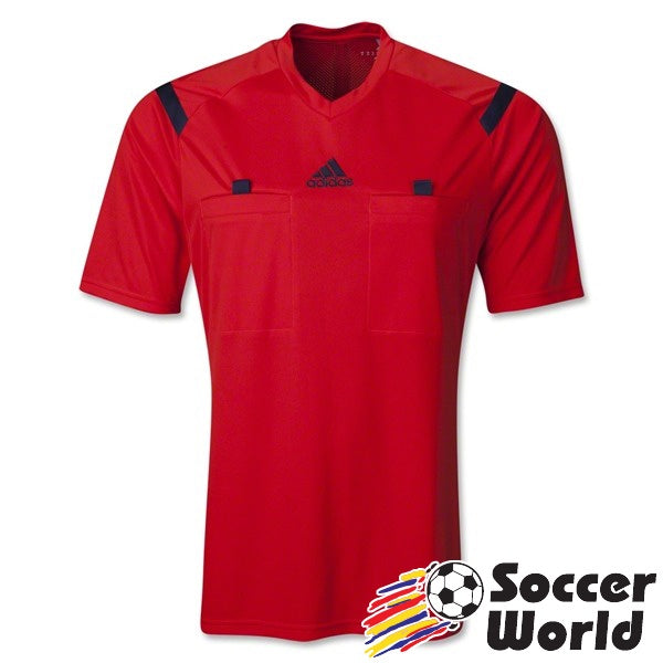 adidas Referee 14 Jersey Hi-Res Red/ Collegiate Navy
