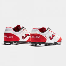 Load image into Gallery viewer, Joma Top Flex Indoor White-Red