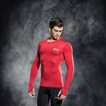 Load image into Gallery viewer, Select Compression Jersey L/S Red