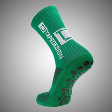 Load image into Gallery viewer, Tapedesign Classic Grip Socks Green