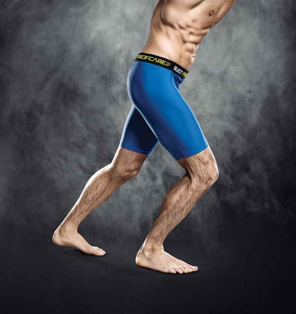 Select Compression Short Royal Blue