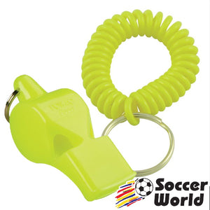Fox 40 Whistle Pearl With Flex Coil Neon