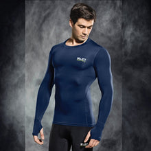 Load image into Gallery viewer, Select Compression Jersey L/S Navy
