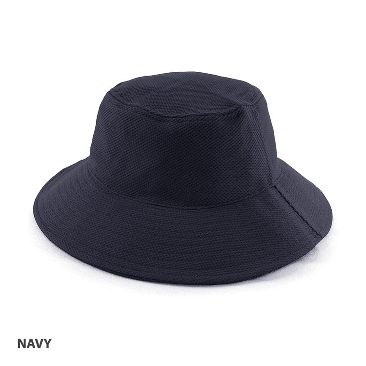 Polymesh Bucket Hat Navy