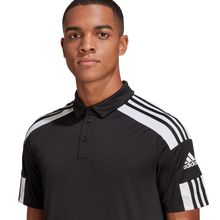 Load image into Gallery viewer, adidas Squadra 21 Polo Shirt Black/White