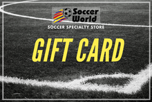 Load image into Gallery viewer, Soccer World Gift Card