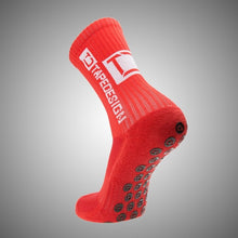 Load image into Gallery viewer, Tapedesign Classic Grip Socks Red