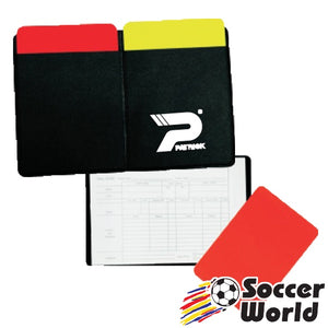 Patrick Referee Wallet and Red/Yellow Cards