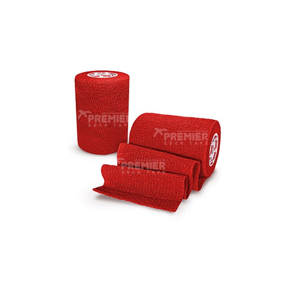 Premier Sock Tape Self Adhesive Pro Wrap Red