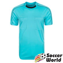 Load image into Gallery viewer, adidas Referee 16 Jersey Blue Glow/Black
