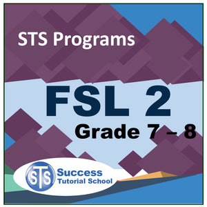 Grade 7 - 8 FSL 2 - French 10 Lessons