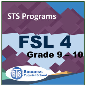 Grade 9 - 10 FSL 4 - French 10 Lessons