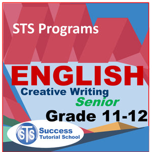 Grade 11-12 Senior Creative Writing Workshop - 20 Lessons