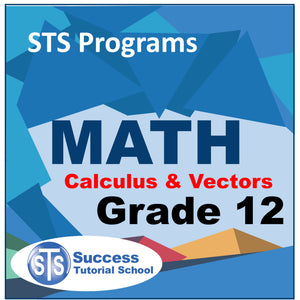 Grade 12 Calculus and Vectors - 10 Lessons