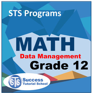 Grade 12 Data Management - 10 Lessons